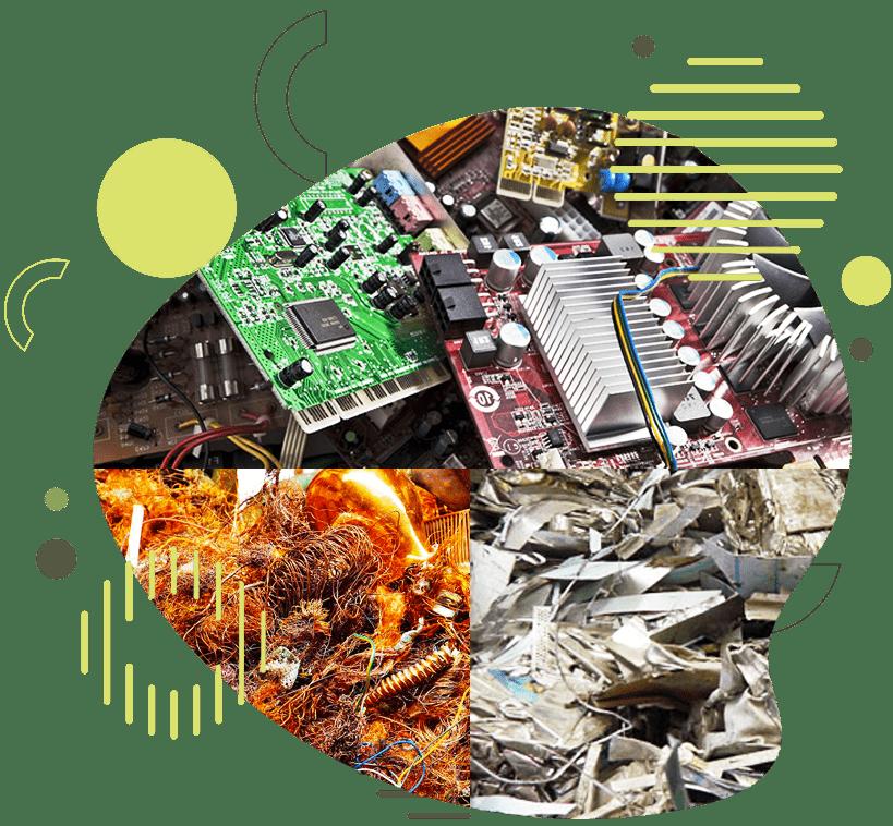 Reciclaje Electrónico y Aceros inoxidables